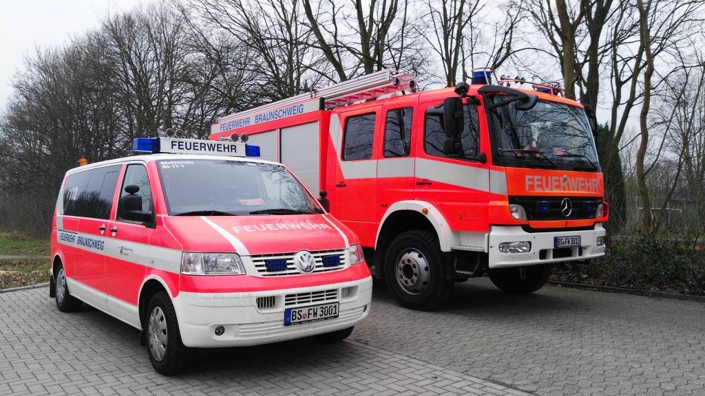 Fahrzeuge der Ortsfeuerwehr Melverode | Foto: Marcel Kermer